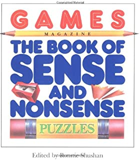 Games Magazine The Book of Sense and Nonsense Puzzles