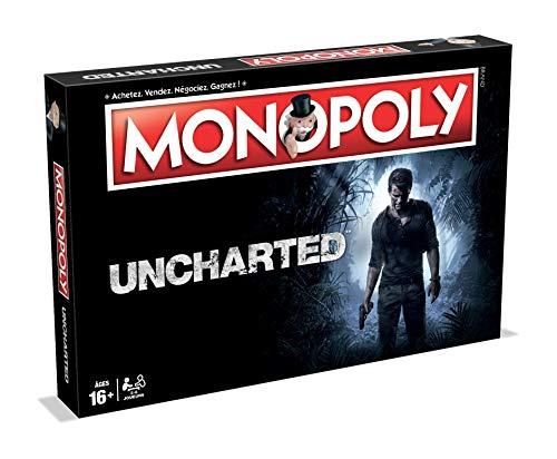 Monopoly Uncharted - Juego de Mesa (versión Francesa)