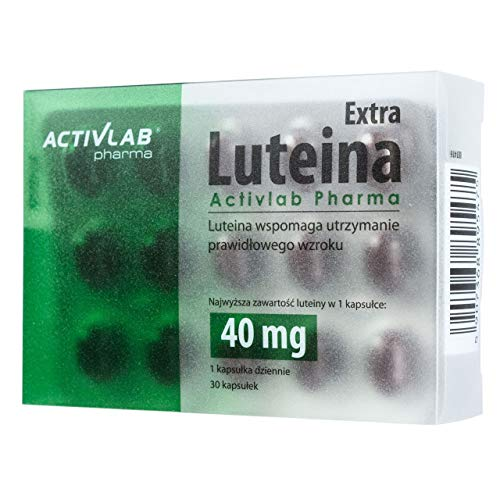Activlab Pharma Luteina Extra 30caps Lutein Vision Gesundheit