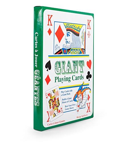 XL Kartenspiel/Spielkarten im Großformat von 20 x 28 cm DIN A4 52er Blatt