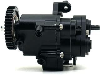 HIUHIU TRX4 Black All Metal Transmission/Center Gearbox for 1:10 RC Crawler Axial TRX4 TRX-4 TRX 4Gear Box Parts