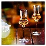 Story 100ml Crystal Cyclet Whisky Glass Glass Creativo Tulip-Gratis Tulip Vino Occhiali da Sposa Festa Champagne Calice Bar Bere Occhiali 2 pz