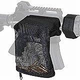 Gexgune Tactical Fucile da Caccia in Ottone Shell Catcher Sgancio rapido Munizioni Mesh Trappola Borsa in Nylon Pistola per Fucile Porta pallottola Custodia