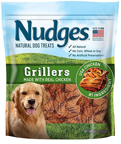Nudges Chicken Grillers Dog Treats, 16 Ounce