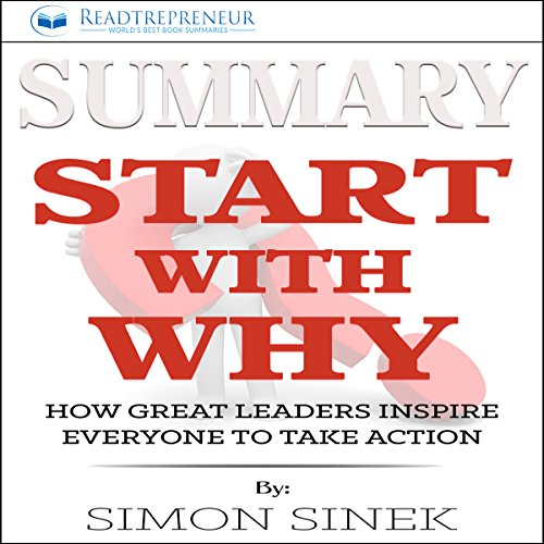 Summary: Start with Why audiobook cover art