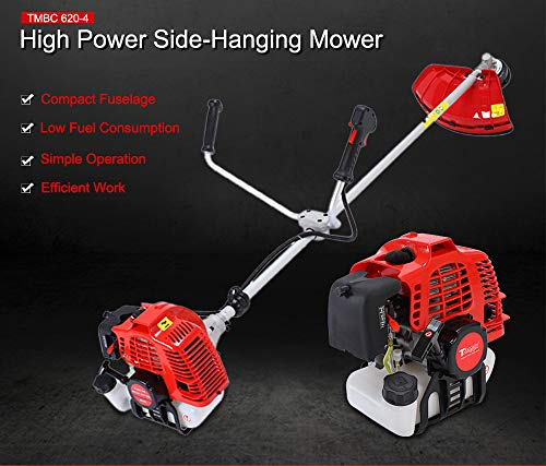 Fantastic Prices! Gasoline Lawn trimmer Lawn Mower 2-Stroke 2.2KW Side-Mounted Grass String Trimmer ...