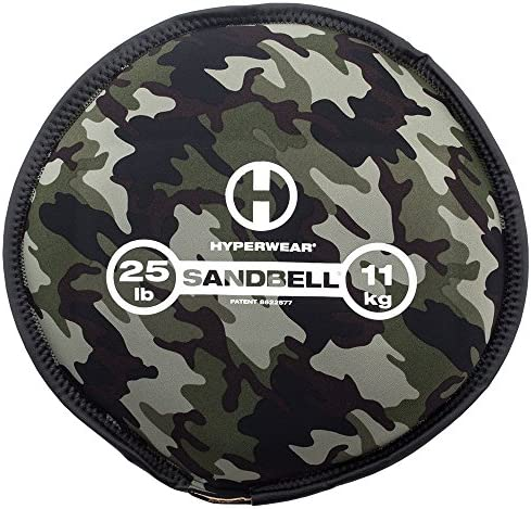 Hyperwear SandBell Sandbag Training Free Weight Pre Filled Camo 25 lb product image