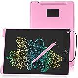 HOMESTEC 12 'Tableta Escritura LCD Color, Pizarra Digital para Apuntar Recordatorios, Escribir o Dibujar-Rosa