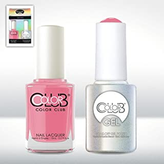 Color Club Gel She's SOOO Glam Pastel Color Club Gel + Lacquer Duo