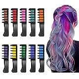 Haarkreide Haarfarbe Kreide Kamm 10