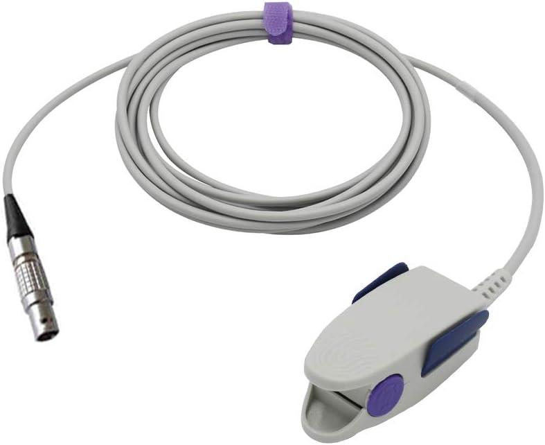 Compatible 毎日激安特売で 営業中です Criticare CSI 934-10LN Spo2 Sensor 5 新登場 Conn Pins ft 9.8