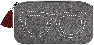 XSWY Glasses Mobile Phone Case Portable Creative Small Fresh Glasses Box Female Korean Myopia Glasses Box Glasses Bag Men's Sunglasses Felt Bag Sunglasses Storage Bag Tide Fashion Korean Compression P
