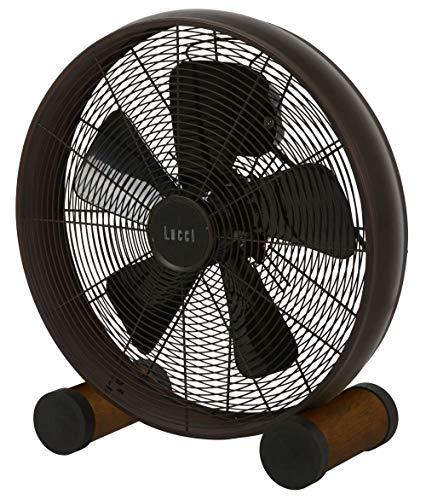 LUCCI AIR Breeze Bodenventilator, Stahl, Bronze