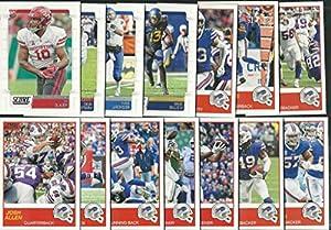 2019 Panini Score Football Buffalo Bills Team Set 14 Cards W/Drafted Rookies