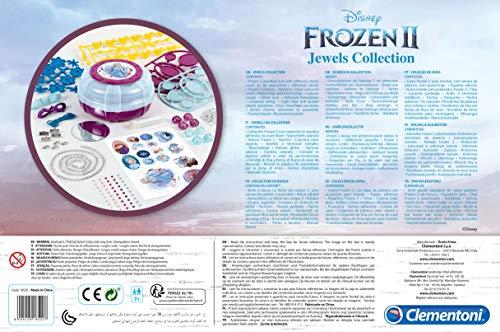 Clementoni- Frozen 2-Jewels Collection Gioco, Multicolore, 18520