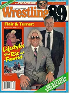Wrestling 89 Magazine : Flair & Turner - Lifestyles of the Ric and Famous (Fall 1989)