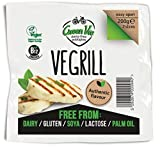 GreenVie Vegalloumi Vegano Halloumi Queso Alternativa 200g (Pack de 2)