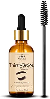 Ayusheal Eyelash Growth Serum - (With Castor Oil, 100% Pure and Natural Oils), 30 ml