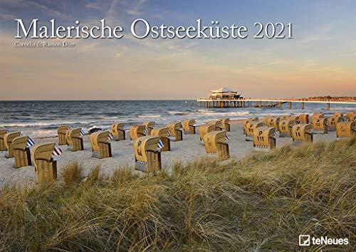 Malerische Ostseeküste 2021 - Wand-Kalender - 42x29,7 - Meer