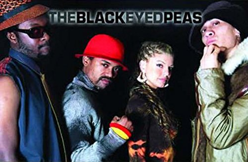 1art1 The Black Eyed Peas Poster Art Print - Monkey Business, Band (32 x 24 inches)