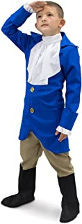 George Washington Boys President Halloween Costume Hamilton Dress Up Role Play