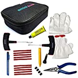 amiciAuto Tubeless Tyre Puncture Repair Complete Kit for Car and Bike (Complete Kit with Easy...