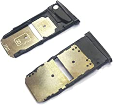 SIM Card Tray Slot Holder Replacement Compatible with Motorola Moto Z2 Force XT1789-01 XT1789-02 XT1789-03 XT1789-04 XT1789-05 XT1789-06 (Black)