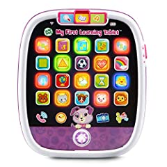 Press the app and bottom icons or slide fingers over the screen for a multicolor light show. Every action activates unique patterns of lights, colors and sounds Just like mom and dad's, this kid-tough toddler tablet features a home button, 20 app ico...