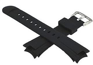 g24 23mm GShock Watch Band Strap Fits EF-305 Black Diver Rubber Watch Strap CAS103 EF305