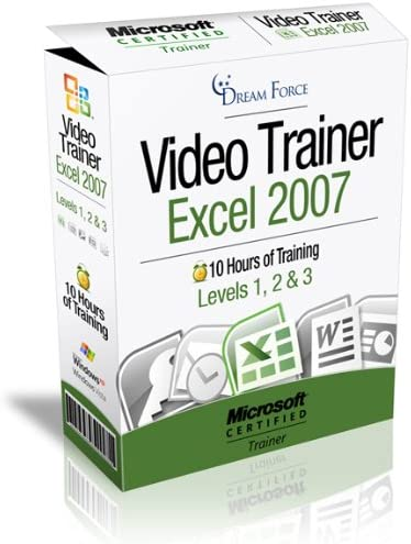 Excel 2007 Training Videos 10 Hours of Excel 2007 training by Microsoft Office Specialist Master product image