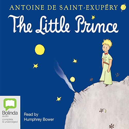 The Little Prince audiobook cover art