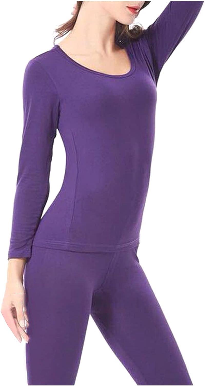WZNING Plus Size Women Autumn Winter Warm Blouse Top + Long Pants Thermal Underwear Set Outfit Women Set Safety Corrector