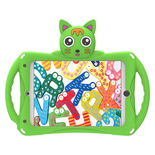 Geageaus iPad Mini Case Kids Shockproof Handle Stand Cover for iPad Mini,...