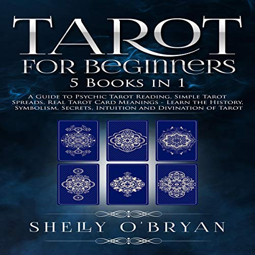 Tarot for Beginners: 5 Books in 1 audiobook cover art