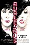 Burlesque Film Poster Cher Christina Aguilera 61x