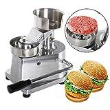 ハンバーガーパティプレスメーカー、ハンバーガープレス、ステンレス鋼、ハンバーガー、パテ、チキンナゲット、フィッシュケーキ、ポテトケーキを作るのに適しています