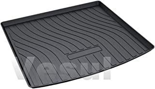 Vesul Rubber Rear Trunk Cover Cargo Liner Trunk Tray Carpet Floor Mat Compatible with Porsche Cayenne 2019 2020