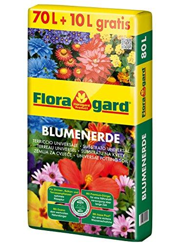 Floragard Blumenerde 70 L + 10 L gratis
