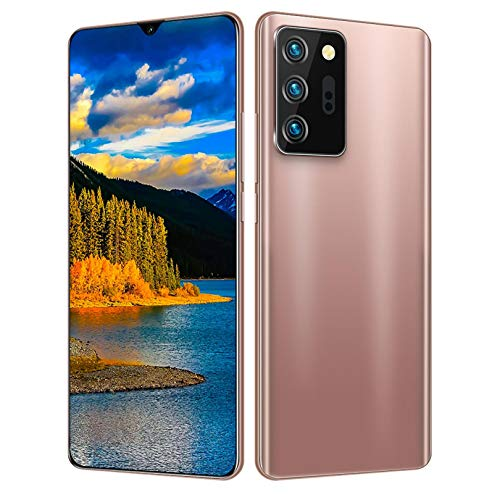 YuanYang hotpot Cell Phones Unlocked,Water Drop Screen 6.3inch Android 6.0 1GB+16GB Face ID 4G Smartphones Note21U+ 18:9 Smart Phone (Rose Gold, 1GB + 16GB 6.3inch)