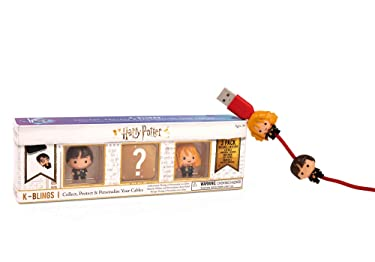 Wizarding World Harry Potter K-Bling - 3 Pack Collectable Cable Protector