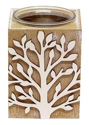 New Tea light Holder 55423, lime Wash box con portacandela in vetro