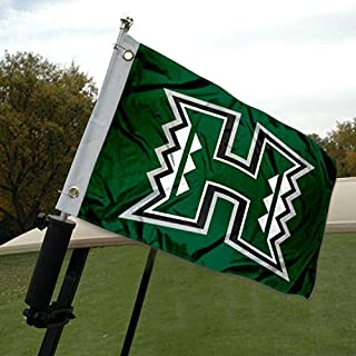 College Flags & Banners Co. University of Hawaii Golf Cart and Boat Flag