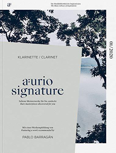 AURIO Klarinette Noten 01/2020. Fünf Werke kuratiert von Nicolai Pfeffer & Pablo Barragan