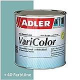 ADLER Varicolor 2in1 Acryl Buntlack für Innen und Außen - 750 ml RAL6034 Pastelltuerkis Türkis - Wetterfester Lack und Grundierung für Holz, Metall & Kunststoff - Seidenmatt