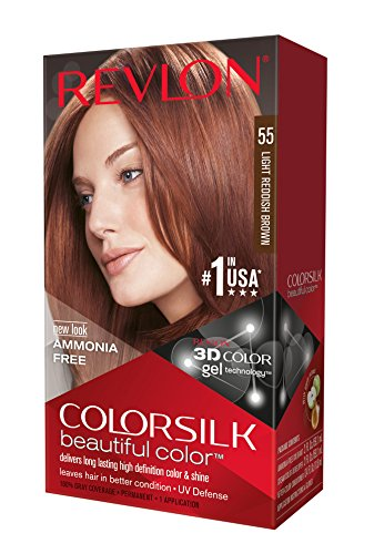 Revlon Colorsilk - Tinte, color 55-rojizo claro, 200 gr