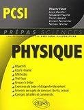 Physique PCSI - Ellipses Marketing - 21/08/2009