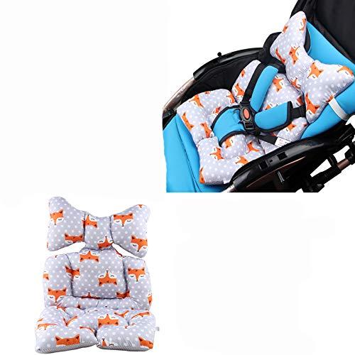 G-Tree bébé Voyage oreiller, nourrisson Tête Corps Oreiller pour Seat et poussette voiture, oreiller bébé de soutien du cou, de la tête et du cou de soutien - Fox