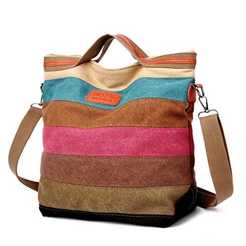 COOFIT Women's Bags, Canvas Shoulder Bag Multifunction Shoulder Bags Shoulder Bag Crossbody Bags Tote Bag Shopper Bag