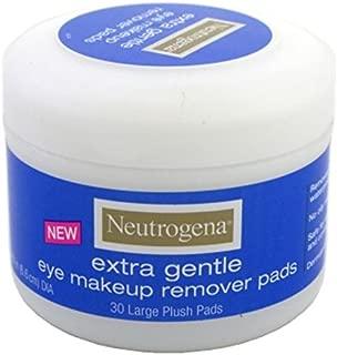 Neutrogena Eye Extra Gentle Makeup Remover Pads 30'S Jar (3 Pack)