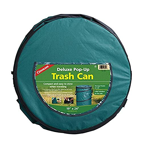 Coghlan's Deluxe Pop-Up Trash Can green, 21